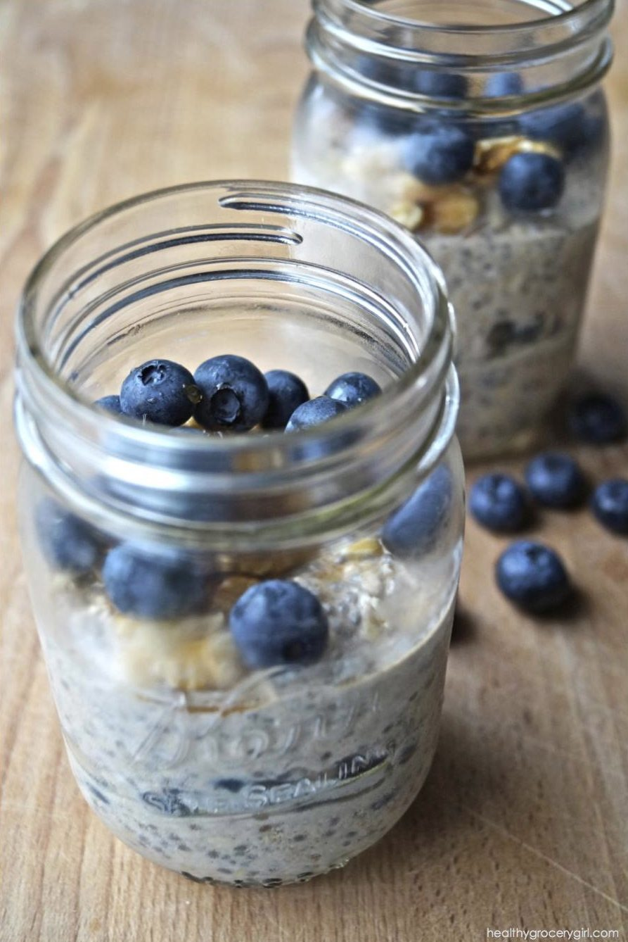 berry oatmeal blueberry overnight oats overnight oats made with berry ...